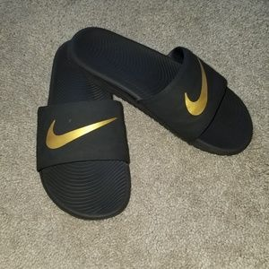 Boys Nike Kawa Slides